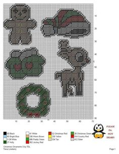 Plastic Canvas Ornaments, Plastic Canvas Crafts, Plastic Canvas Patterns, Needlepoint Patterns, Cross Stitch Patterns, Christmas Topper, Christmas Ornaments, Christmas Tree, Gift Wrapping Techniques