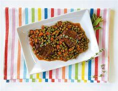 Μοσχαράκι+κοκκινιστό+με+λαχανικά
