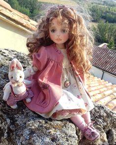 Полина. Текстильная кукла - купить или заказать в интернет-магазине на Ярмарке Мастеров - GG46DRU. Сарагоса   Я на ткани воплощаю Лета розовые грезы.