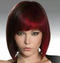 ... hair color on Pinterest | Red highlights, Hair color and Reverse ombre