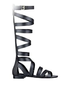 GUESS Women's Alina Flat Gladiator Sandals