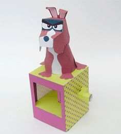 Disagreeing Dog - Download and Make   www.robives.com