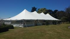 External shot of a 12x30m Electron from a recent #hawkesbaywedding