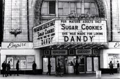 Sugar Cookies plays the Empire Theater, 42nd Street