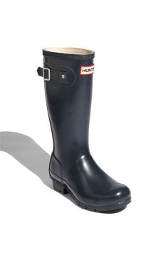 Hunter 'Original' Rain Boot (Toddler, Little Kid & Big Kid) | Nordstrom   seems like a size 5 would be perfection
