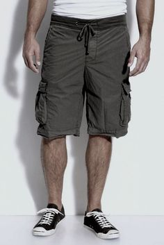 Stretch-cotton Drawstring Cargo Shorts James Perse wQnsvha