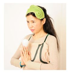 Green leather hat by CHUCHU NY photography by Julie Cunnah