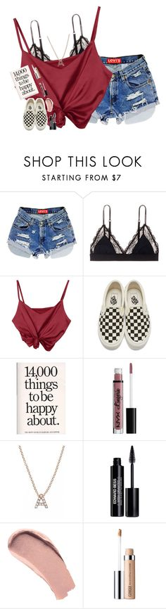 """""""i don't regret it one bit 'cause he had it coming."""" by pineapple5415 ❤ liked on Polyvore featuring LoveStories, Vans, NYX, Bony Levy, Edward Bess, Burberry and Clinique"""