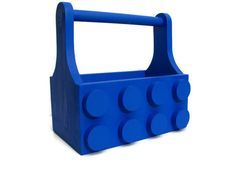 A unique and fun Lego tote and storage bin.