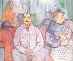 Henri De Toulouse-Lautrec | Henri de Toulouse-Lautrec Paintings 79, Art, Oil Paintings, Artworks