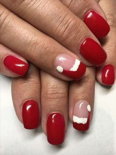 Nail Art For Christmas Ideas 11 You should prepare your Christmas nail art designs ideas, before Christmas has been and gone!A neat manicure with festive designs can really lift your spirits throughout the season. When your nails… Cute Christmas Nails, Christmas Nail Art Designs, Xmas Nails, Holiday Nails, Christmas Ideas, Christmas Colors, Christmas Nail Polish, Christmas Manicure, Christmas Design