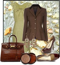 """Terra Cotta"" by jacque-reid ❤ liked on Polyvore"