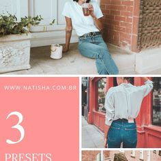 PRESET LIGHTROOM GRÁTIS PARA CELULAR - SUMMER DAY - NATISHA NA MODA Presets Do Lightroom, Lightroom Gratis, Retro, Fashion, Girls Girls Girls, Tips, Photo Editing, Moda, Rustic
