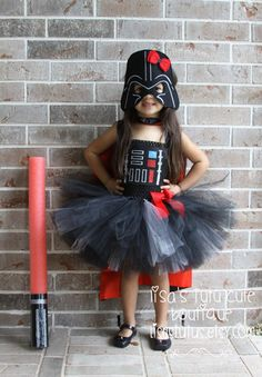 Darth Vader Inspired Tutu Dress Star Wars Tutu by LisasTutus