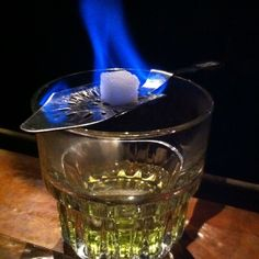 Old Absinthe House, New Orleans, Louisiana — by Aaron Roberts. Absinthe drink.