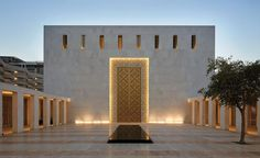 Jumaa Mosque and Sacred Heart Cathedral by John McAslan + Partners - architektur Sacred Architecture, Mosque Architecture, Religious Architecture, Architecture Portfolio, Architecture Details, Modern Architecture, Architecture Sketches, Architecture Wallpaper, Sacred Heart Cathedral