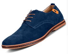 Suede oxfords from Pierroshoes.com