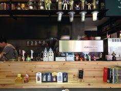 합정 메이드인 카페 라마르조꼬 머신 아메리카노 4p (샷 괜찮음) 카라멜마키아또 2p (시럽 별로)