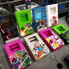 Deadpan Robot added a new photo. Nintendo Systems, Nintendo Games, Arcade Games, Custom Consoles, Game Boy, Pinball, Nintendo Switch, Videogames, Robot