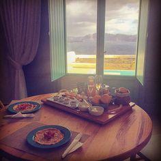 Good morning Santorini #Greece #santorini #travel #breakfastwithaview by littlemcdee