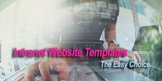 Intranet website templates are not only a time saver, they are also a cost-effective solution. Let's find out more about just what an easy choice they are. Website Template, Workplace, Software, Wordpress, Web Design, Let It Be, Templates, Digital, Easy
