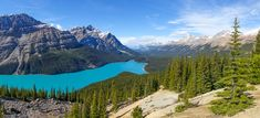 All the lakes you HAVE to see in Banff National Park near Lake Louise! Banff National Park, National Parks, Fairmont Chateau Lake Louise, Fairmont Banff Springs, Emerald Lake, Small Lake, Fairytale Castle, Rocky Mountains, Lakes