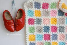 Crochet Baby Blanket.
