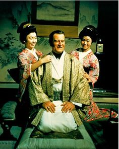 """""""The Barbarian and the Geisha""""  movie #122.  Directed by John Huston.  With Sam Jaffe, Eido Ando, So Yamamura.  (Stick with the westerns, John)"""