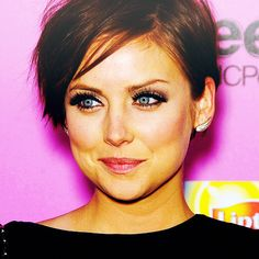 jessica stroup I love her hair. Long or short, but wow, she looks amazing and the shorter the more I like it!