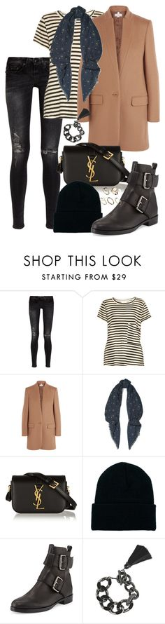 """""""Untitled #1307"""" by malurodz ❤ liked on Polyvore featuring R13, Current/Elliott, STELLA McCARTNEY, Valentino, Yves Saint Laurent, American Apparel, Pierre Hardy, Lanvin and ASOS"""