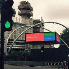 Google Live Search billboard, Old Street, London. (via Tom...