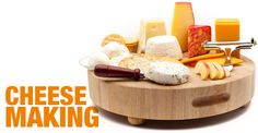 really cool website with forums and blogs about cheese making plus the supplies I need to actually do it