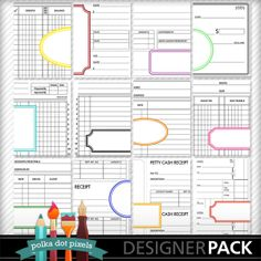 FREE Ledger Journal Cards from Polka Dot Pixels {store checkout required} Bullet Journal Prompts, Life Journal, Journal Cards, Project Life Freebies, Project Life Layouts, Project Life Album, Project Life Cards, Pocket Cards, Planner Organization