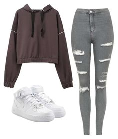 Designer Clothes, Shoes & Bags for Women Cute Lazy Outfits, Casual School Outfits, Cute Swag Outfits, Teenage Girl Outfits, Teen Fashion Outfits, Teenager Outfits, Casual Winter Outfits, Outfits For Teens, Stylish Outfits