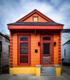 nola shotgun house - Google Search