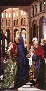 presentacion de cristo - (Rogier van der Weyden)