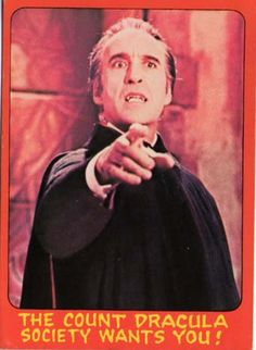 STRANGE THINGS ARE HAPPENING: HAMMER HORROR BUBBLEGUM CARDS GALLERY