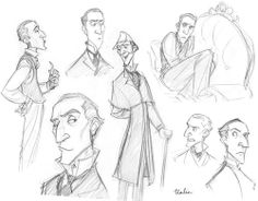 Tealin's versions of Sherlock Holmes are great. This one is based on Clive Merrison.