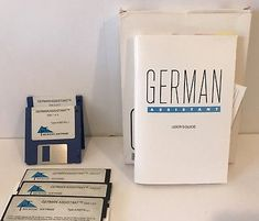 Vintage Microtac Software German Assistant PC Software 5.25 And 3.5 Disks