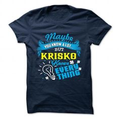Cool t shirts It's a KRISKO Thing Check more at http://cheap-t-shirts.com/its-a-krisko-thing/