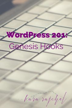 Learn how you can change the appearance of your Genesis Child theme by using Genesis Hooks! Includes copy and paste codes for common blog changes like adding a footer copyright!