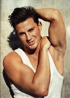 Channing Tatum. Trivia: His big break was being cast in a Ricky Martin video.