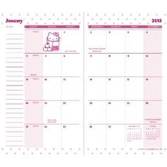 Free printable calendars with Hello Kitty for 2017! Instant ...