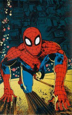 Spider-Man in Marvel Fanfare #45 - Klaus Janson