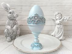 This Vintage easter eggs - faberge egg, wooden box is perfect for unique easter decorations, antique centerpiece table decor. Unique Handmade eggs is great for you shabby chic decor or the gift for mother, friends and colleague and also can be memorable gift for Easter. This egg is painted by me manually. Nicely done, in good condition. Gray shadowed accents to make the eggs look more aged. Ready to display for the Easter season. Use year after year for the Spring/Easter holiday season. Vintage Decorations, Christmas Decorations, Table Decorations, Easter Decor, Easter Gift, Easter Season, Faberge Eggs, Cute Gift Boxes, Easter Holidays