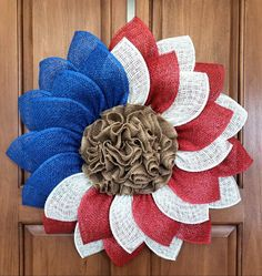 Dekoration Americana Burlap day Flag Flower Fourth July Patriotic Poly Sunflower Veterans WreathPatriotic Flag Americana Poly Burlap Flower Wreath July Wreath Fourth of July Wreath July Veterans Day Patriotic Sunflower Burlap Flower Wreaths, Sunflower Wreaths, Deco Mesh Wreaths, Yarn Wreaths, Mesh Wreaths Summer, Ribbon Wreaths, Floral Wreaths, Summer Wreath, Patriotic Wreath