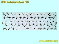 iGK64 ( GK64 ) hot swappable switches mechanical keyboard PCB - Custom mechanical keyboards shop online store, group buy Diy Mechanical Keyboard, Flash Memory, Mac Os, Arrow Keys, Online Shopping Stores, Group, Hot, Stuff To Buy, Torrid
