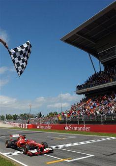 Formule 1. GP d'Espagne 2013 : victoire de Fernando Alonso, deux Ferrari sur le podium