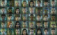 Character Portraits, Mug Shots