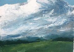 Clark Davidson - Oil on canvas